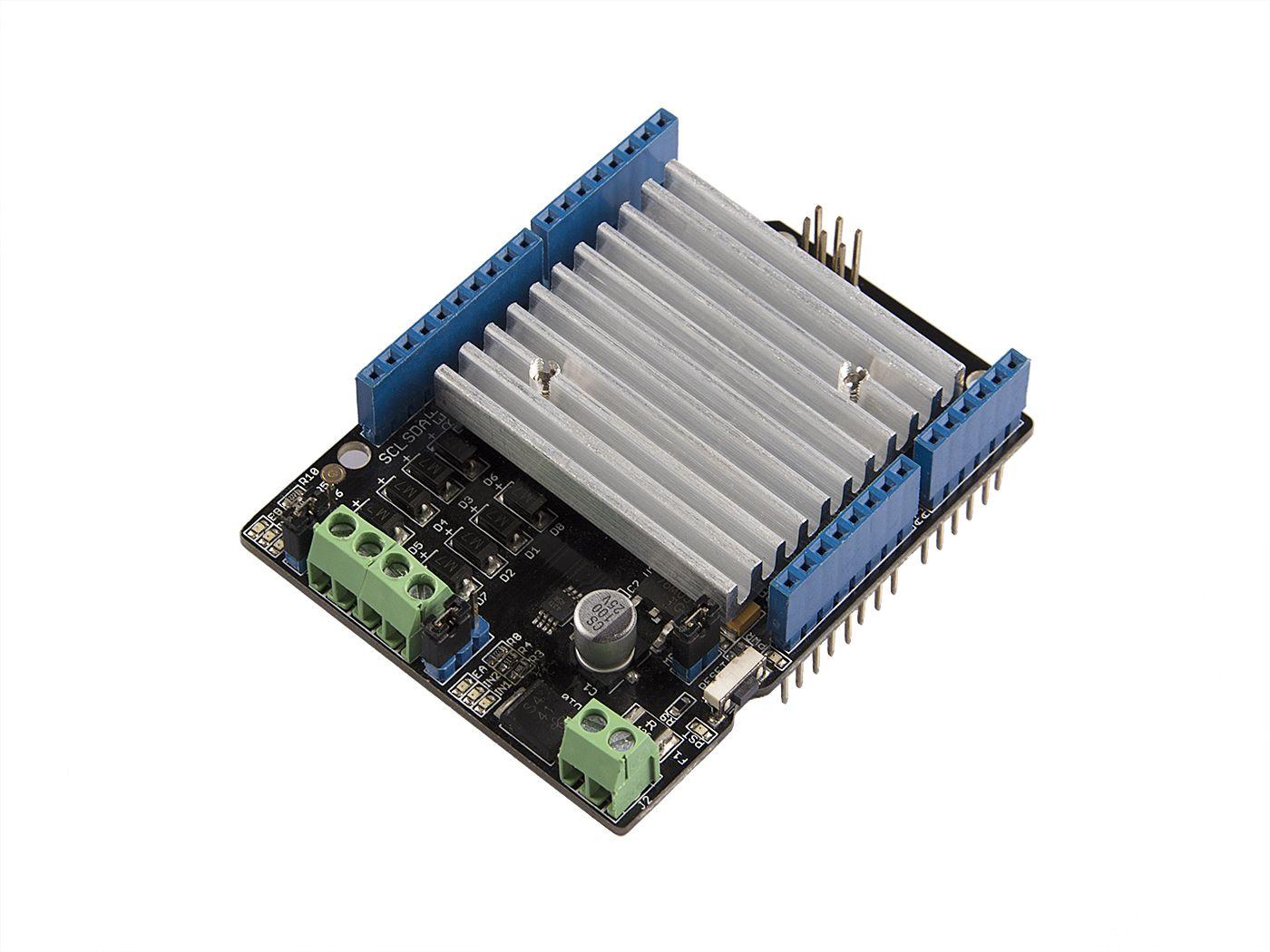 Seeed Studio Motor Shield  V2.0 Based on L298 full bridge IC For Arduino 2